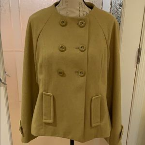 Mossimo wool peacoat size large nwt